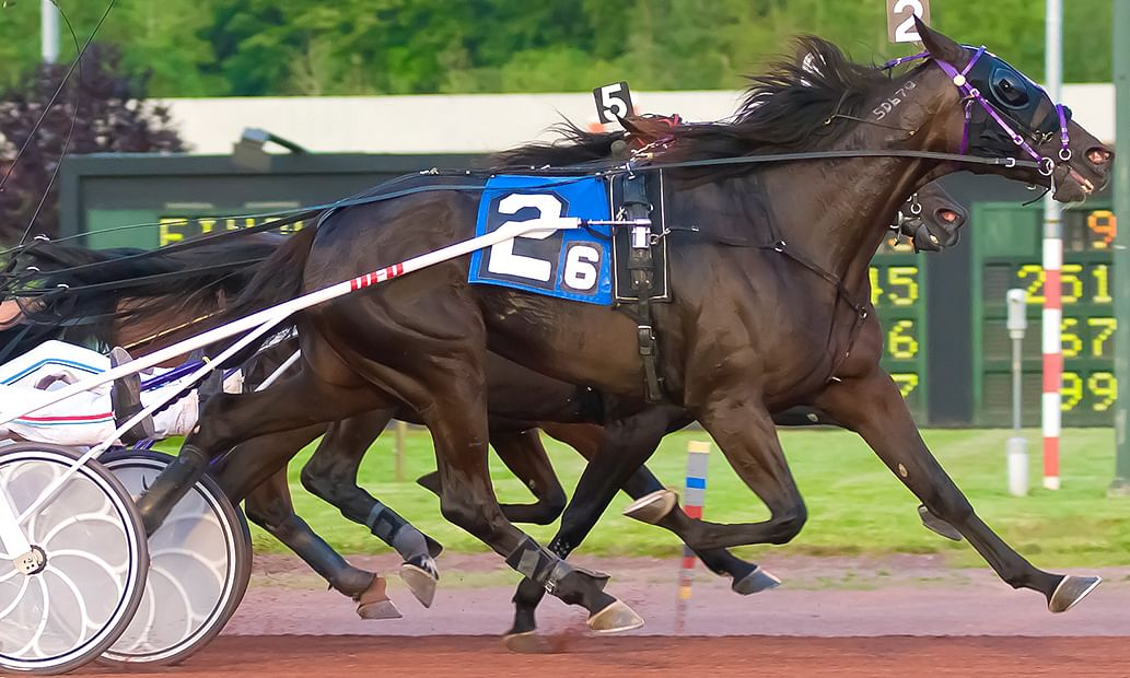 Harness racing returns Saturday night, March 16, 2019, to Pocono Downs.