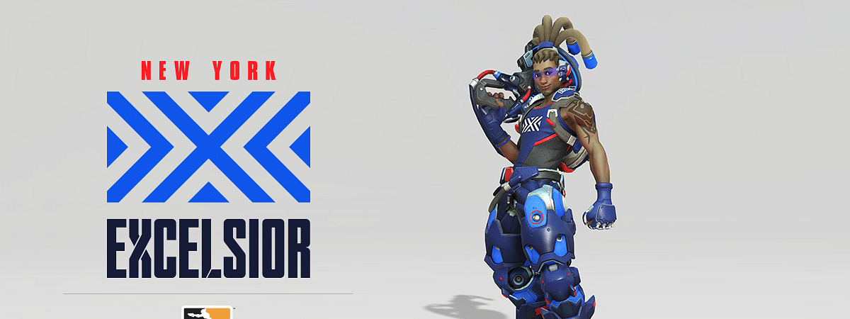 New York Excelsior Team Logo, Overwatch League
