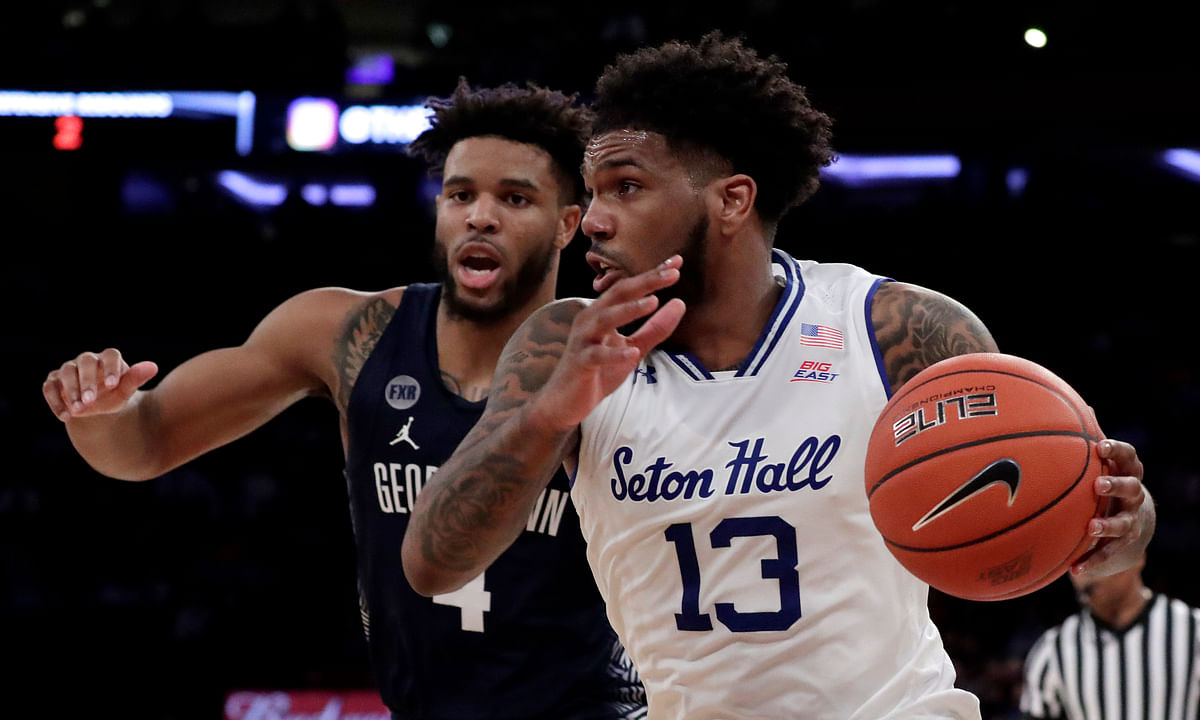 NCAAB: Seton Hall faces Marquette in Big East semifinal action