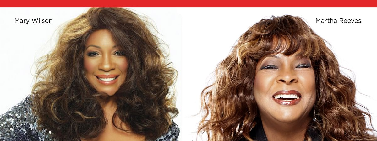 Mary Wilson and Martha Reeves perform together at SugarHouse May 17.