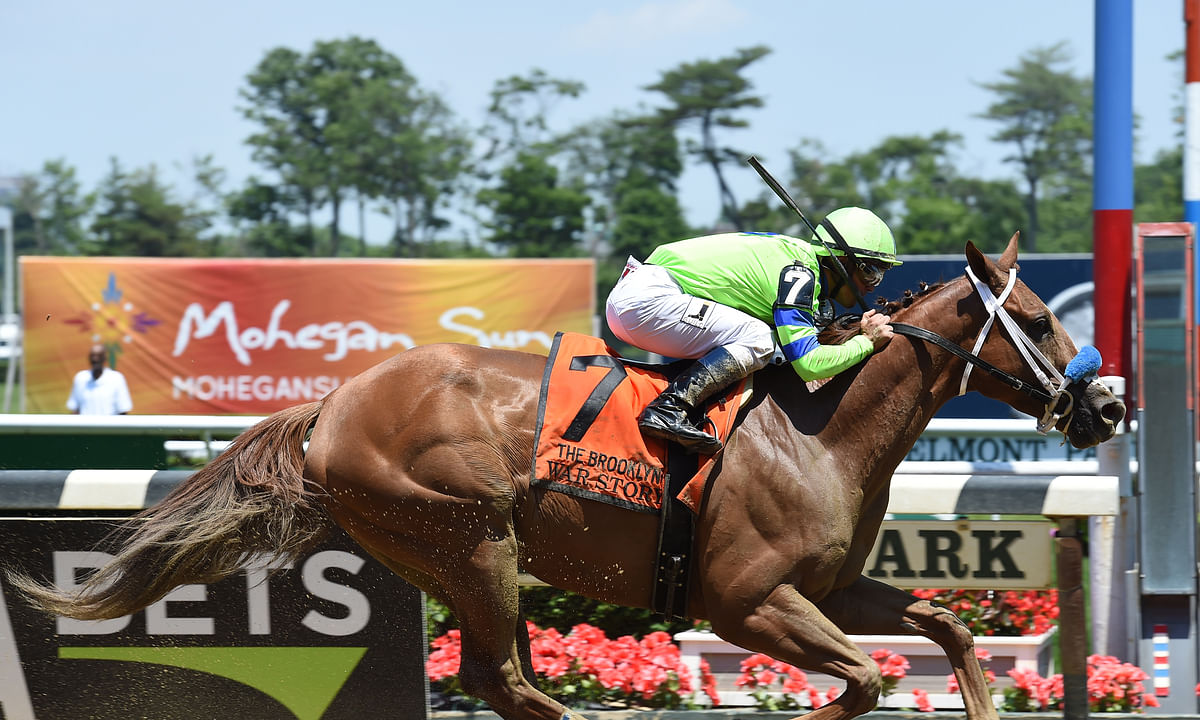 Thoroughbreds: Garrity's Saturday stakes picks for Keeneland, Oaklawn Park, Santa Anita and . . . Charles Town. Expect a lot of slop.
