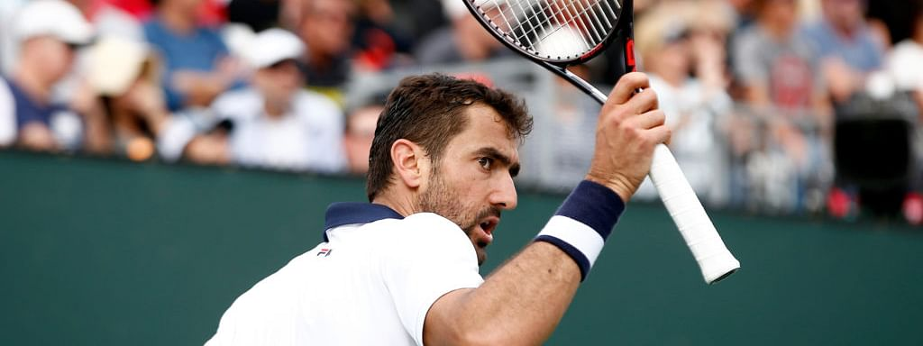 Marin Cilic played at Indian Wells in march and plays Thursday in the Round of 16 at the Hungarian Open.