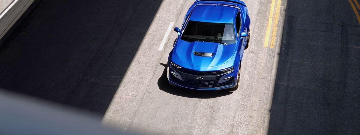 Camaro 2SS Coupe in Riverside Blue Metallic