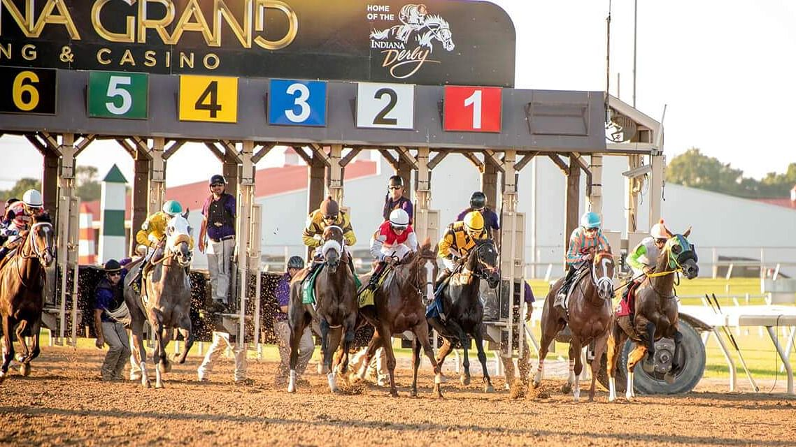 Thoroughbreds Wednesday -- Garrity at Indiana Grand and Thistledown