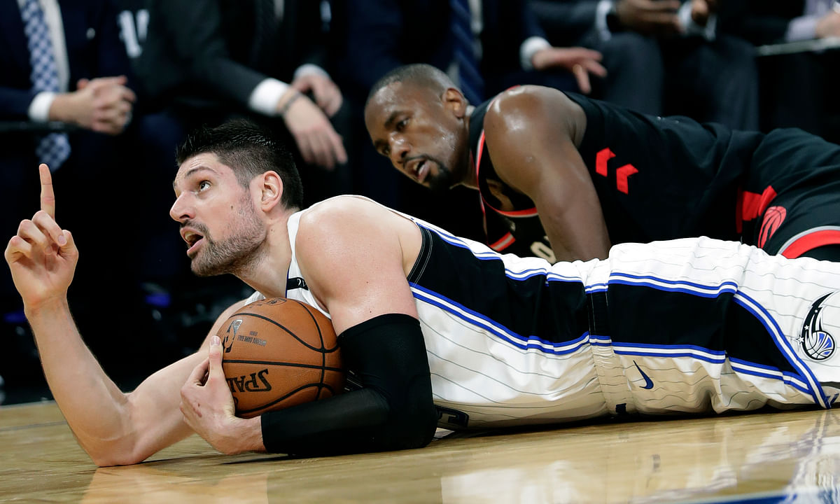 With half his team out, Orlando's Nikola Vucevic will have no time for resting.