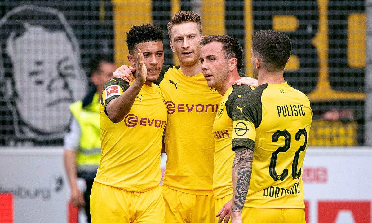 Soccer Saturday--Miller has EFL: Sheffield v Ipswich, Norwich v Blackburn; Bundesliga: Dortmund v Schalke, Leipzig v Freiburg; Rennes v PSG