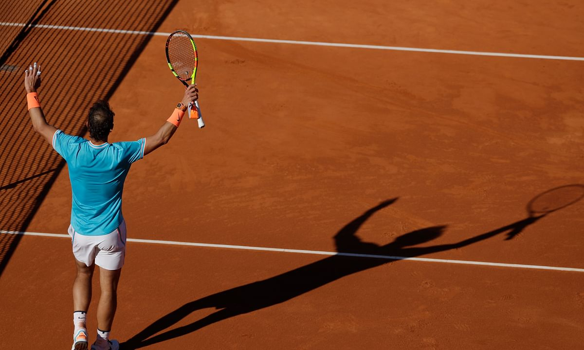 Tennis: In  Barcelona Open Round of 16, Abrams sees who's left after day of upsets–Nadal, Thiem, FA2, Tsitsipas, Medvedev, Dimitrov, Pella