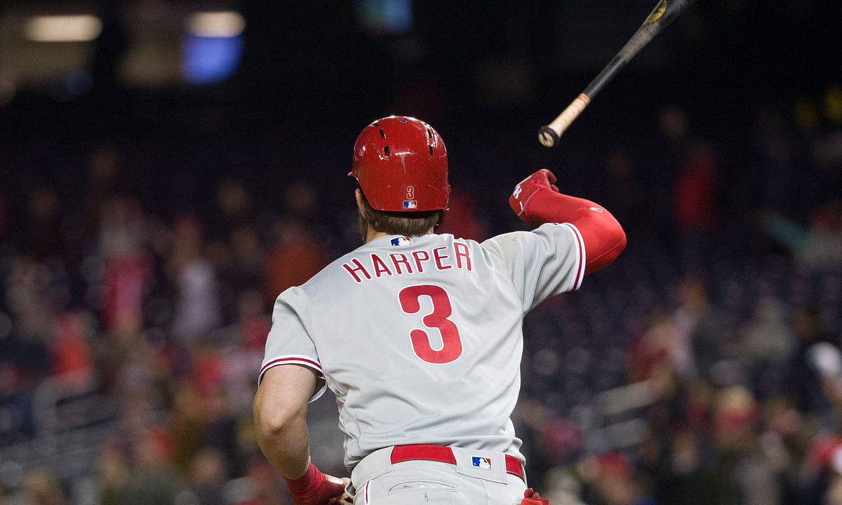 5 bets for today's Phillies vs. Nationals matchup