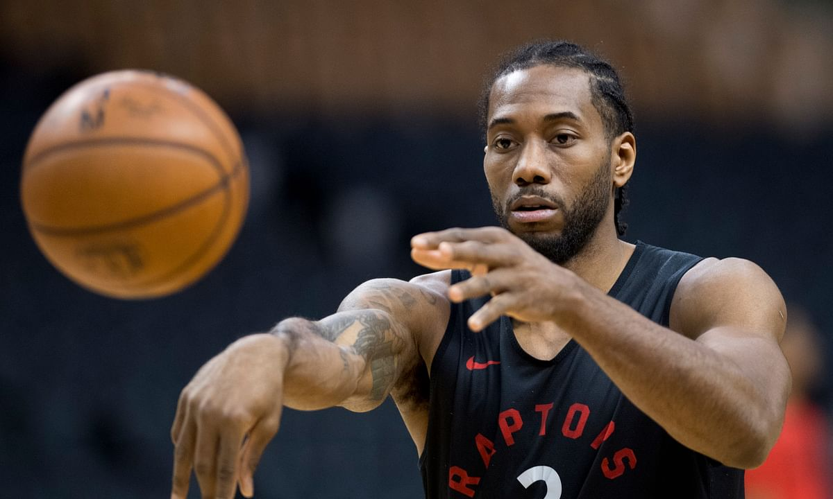 Warriors' plan for stopping Kawhi Leonard is to throw everything, and everyone, at him