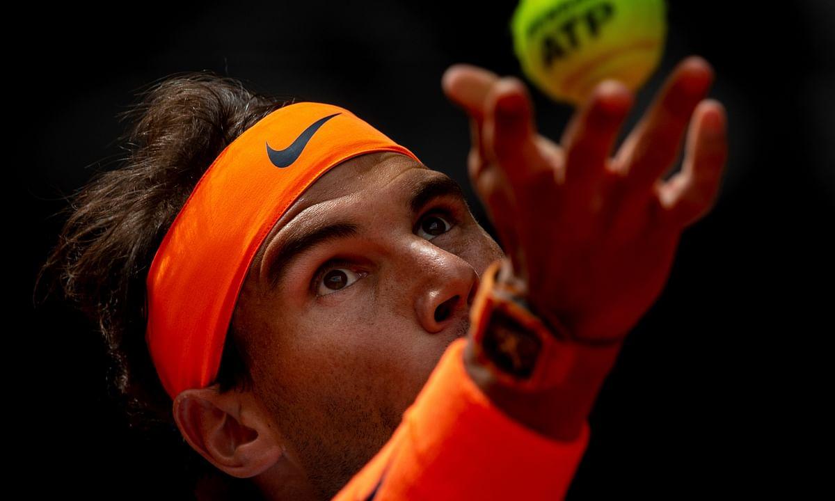 Madrid Open Wednesday Results: Nadal beats FA2, stomach flu;  Wawrinka,  Fognini, Monfils, Tsitsipas, Osaka, Kvitova, Stephens also win.