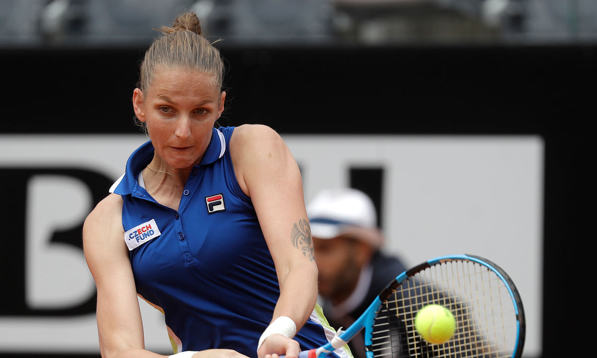 Italian Open Tennis Sunday Recap: Karolina Pliskova wins biggest clay title of career, beating Johanna Konta 6-3, 6-4