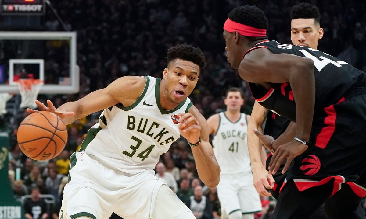 Giannis scores 30, Bucks never trail, top Raptors 125-103 to go up 2-0 in Eastern Conference NBA Playoffs