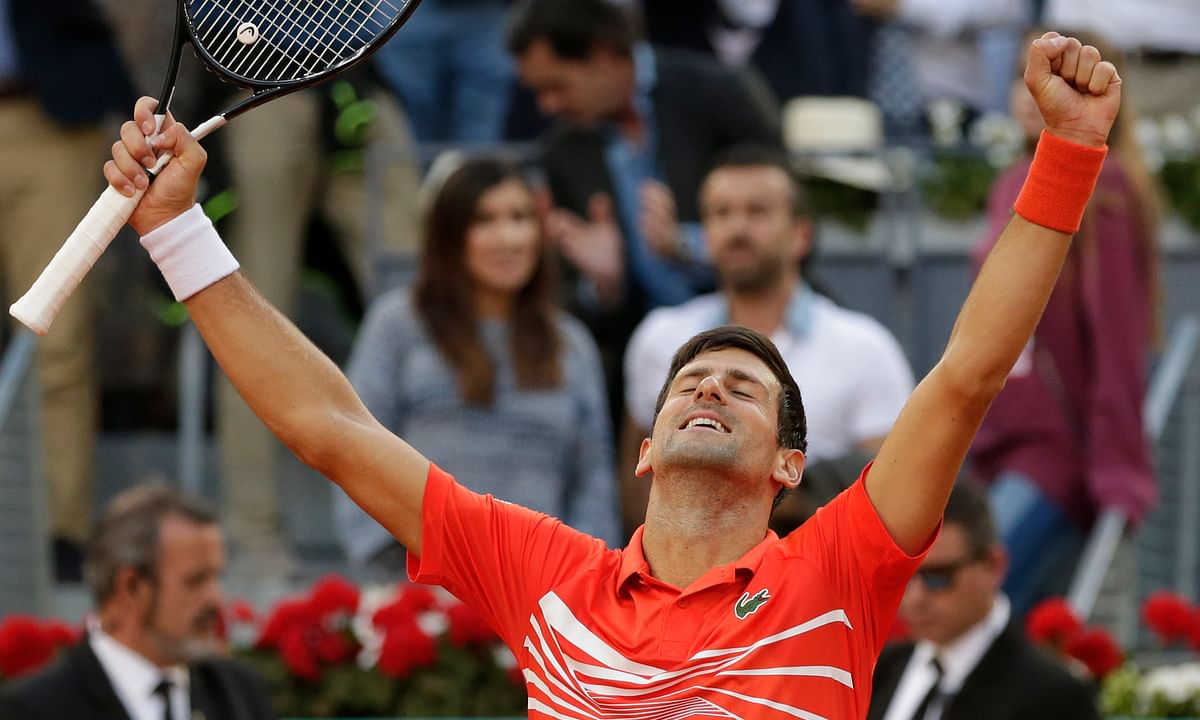Novak Djokovic shows his clay game is no Djoke, beats Stefanos Tsitsipas in straight sets to claim Madrid Open title