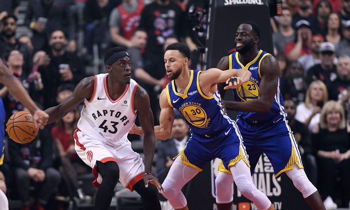 Raptors top Warriors in NBA Finals Game 1, 118-109 – Siakam, Leonard, Gasol combine for 75 points; Curry scores 34 in defeat