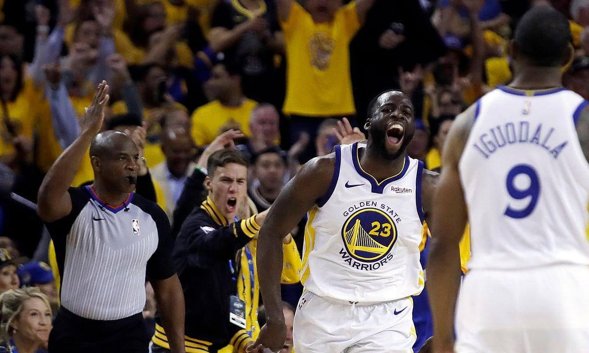 NBA: Mims on both Games 2s - Trail Blazers v Warriors, Raptors v Bucks