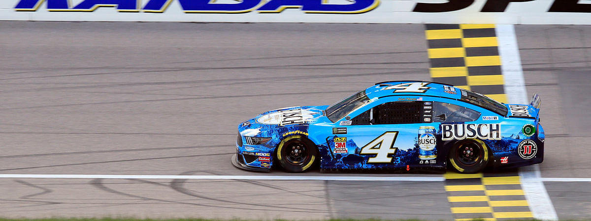 Kevin Harvick, shown during qualifying for the pole Friday, hopes to be the first multiple winner in  Saturday's Digital Ally 400 (Orlin Wagner)