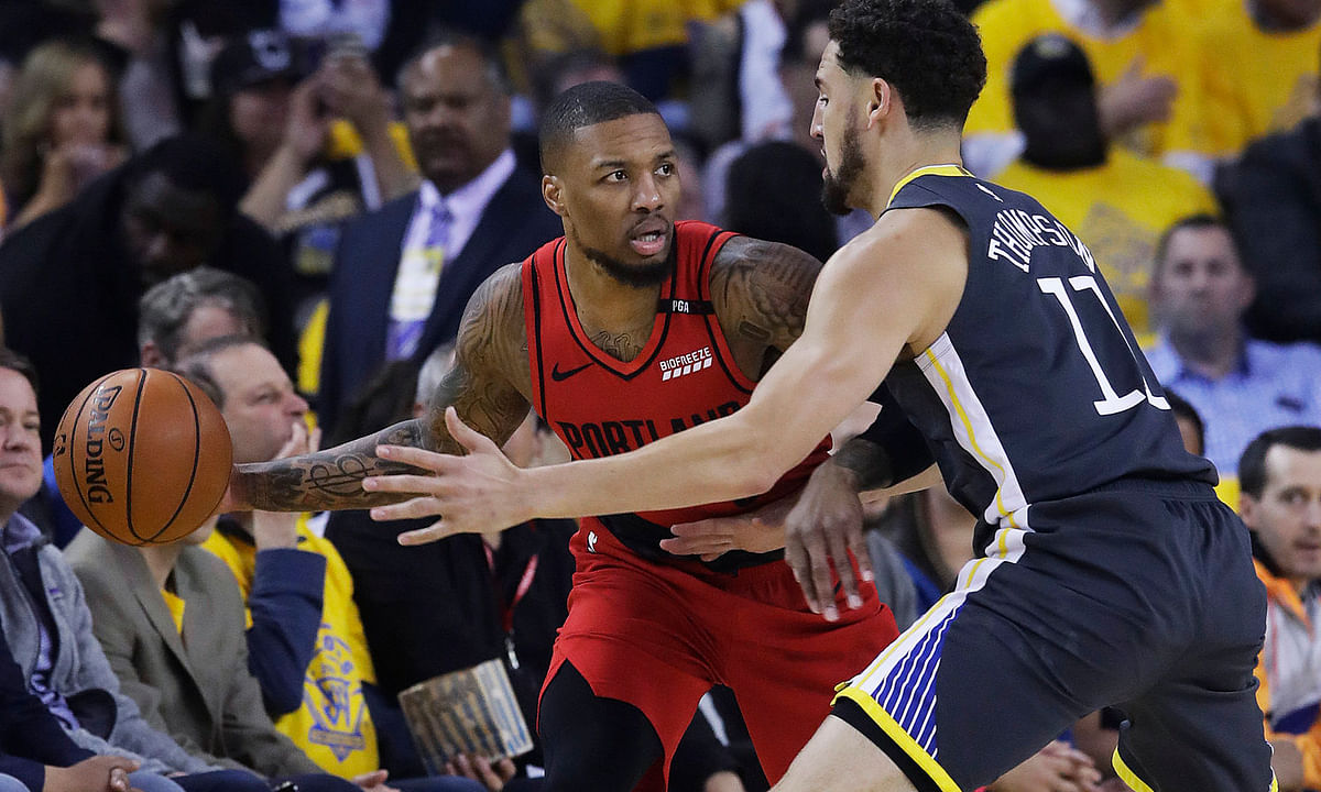 NBA Saturday: Frank on Warriors v Trail Blazers, Durant, Lillard, Aminu, Hood, Harkless, Kanter