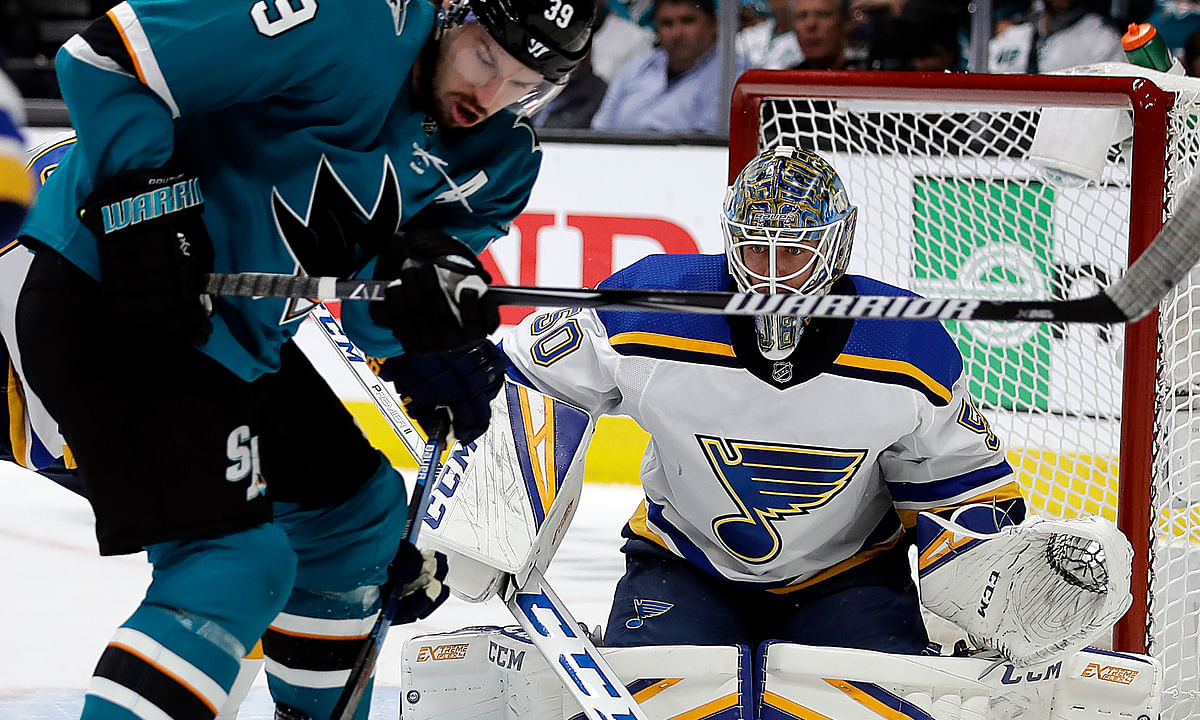 NHL Playoffs Wednesday: Sharknado or Blues Brothers? Dietel picks Sharks vs Blues