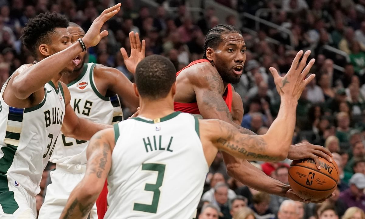 NBA Saturday: Frank on Raptors v Bucks, Fred vanFleet, Kawhi Leonard,