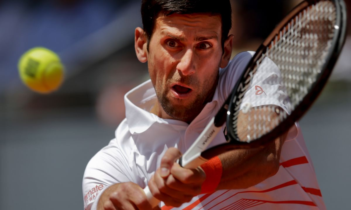 ATP Tennis Thursday: Abrams picks Madrid Open's Round of 16–Djokovic, Federer, Nadal, Zverev, Fognini, Tsitsipas, Verdasco, Nishikori, more