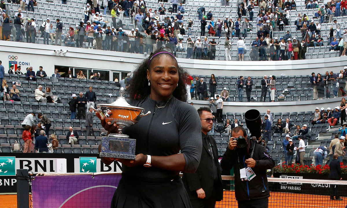 Tennis Monday: Abrams has 17 picks from the Italian Open including Serena and Venus Williams, Madison Keys, FA2, Fognini, Shapovalov & more