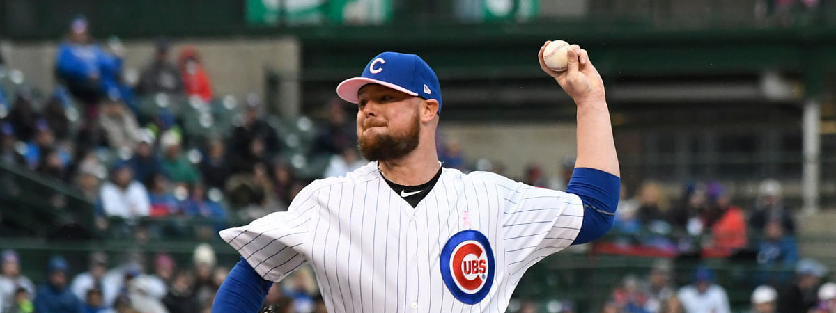 Cubs lefthander Jon Lester (shown here in his May 12 start) has never lost to the Phillies (David Banks)