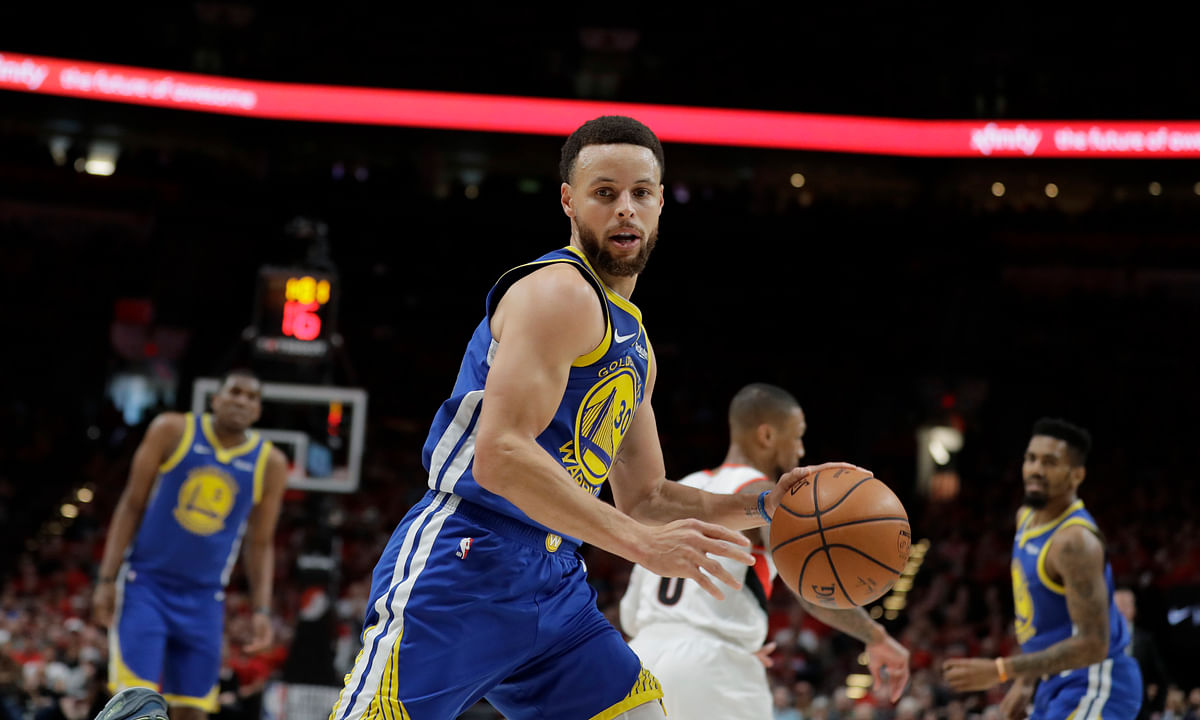 Warriors! Curry, Green triple-doubles lead Golden State to 119-117 OT Game 4 sweep. No Cousins, no Durant, no Iguodala, no problem!