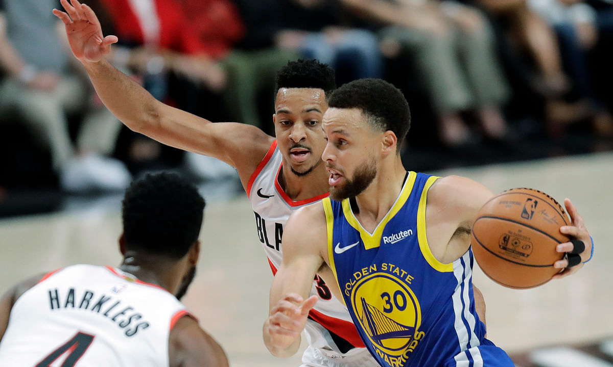 NBA Playoff Monday: Golden State Sweep? Frank picks Game 4 of Warriors vs Trail Blazers in the Western Conference Finals