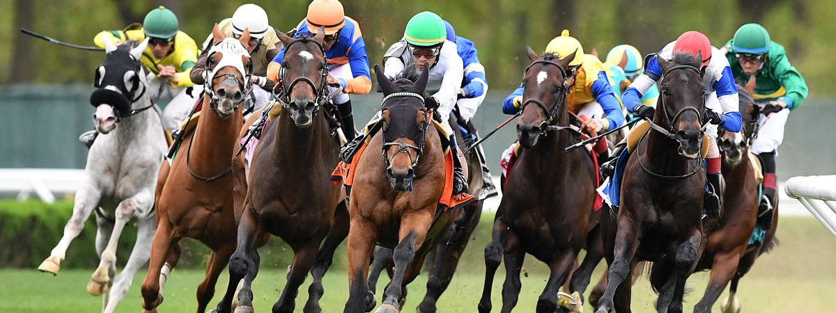 Turf racing at Belmont Park was unfortunately cancelled today, so RT subbed in a race at Penn National.