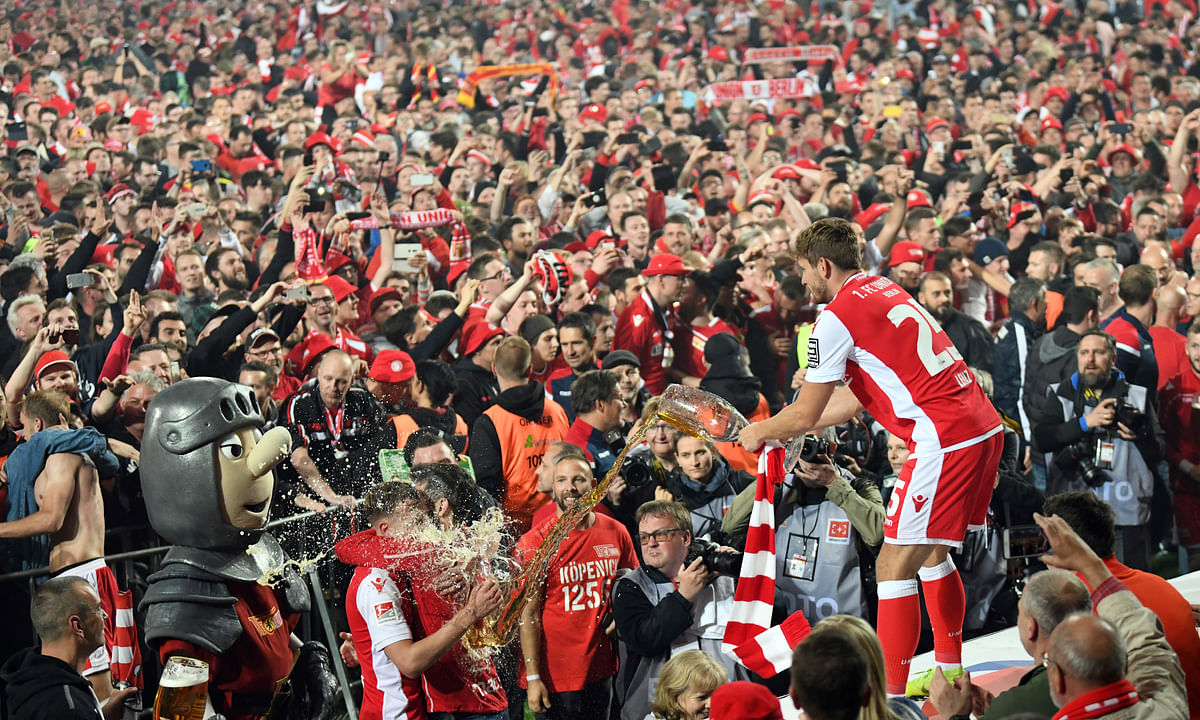 Bundesliga Soccer: Cult club Union Berlin promoted for first time