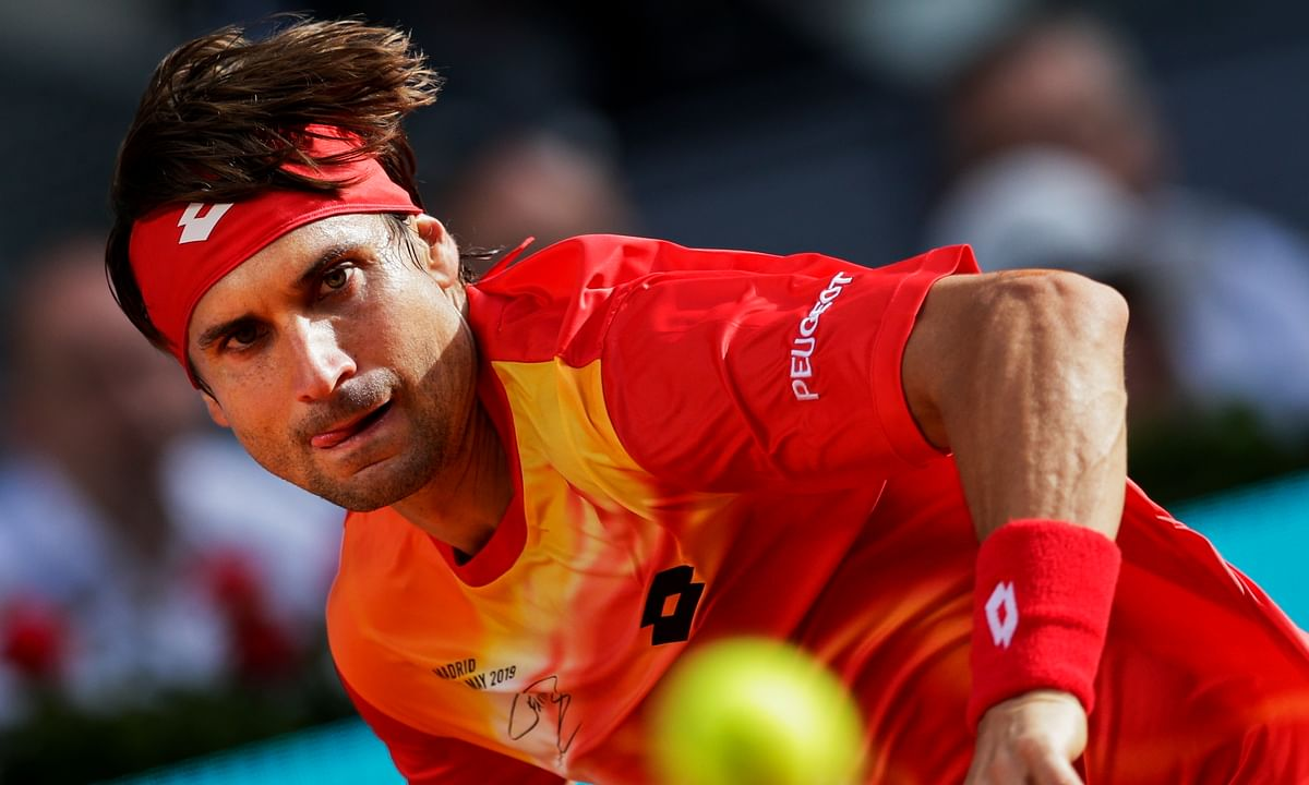 Tennis: David Ferrer's 20-year career ends with loss at Madrid Open