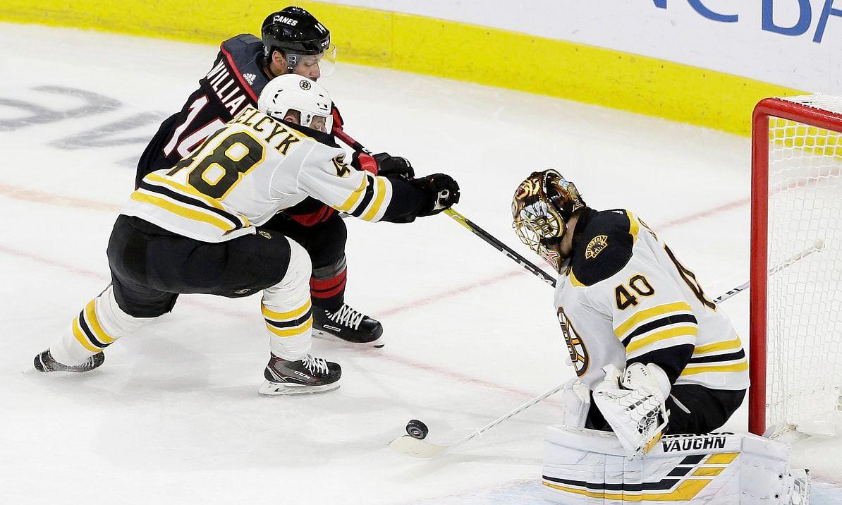 NHL Playoffs Thursday: Dietel on Bruins v Hurricanes as Boston goes for sweep