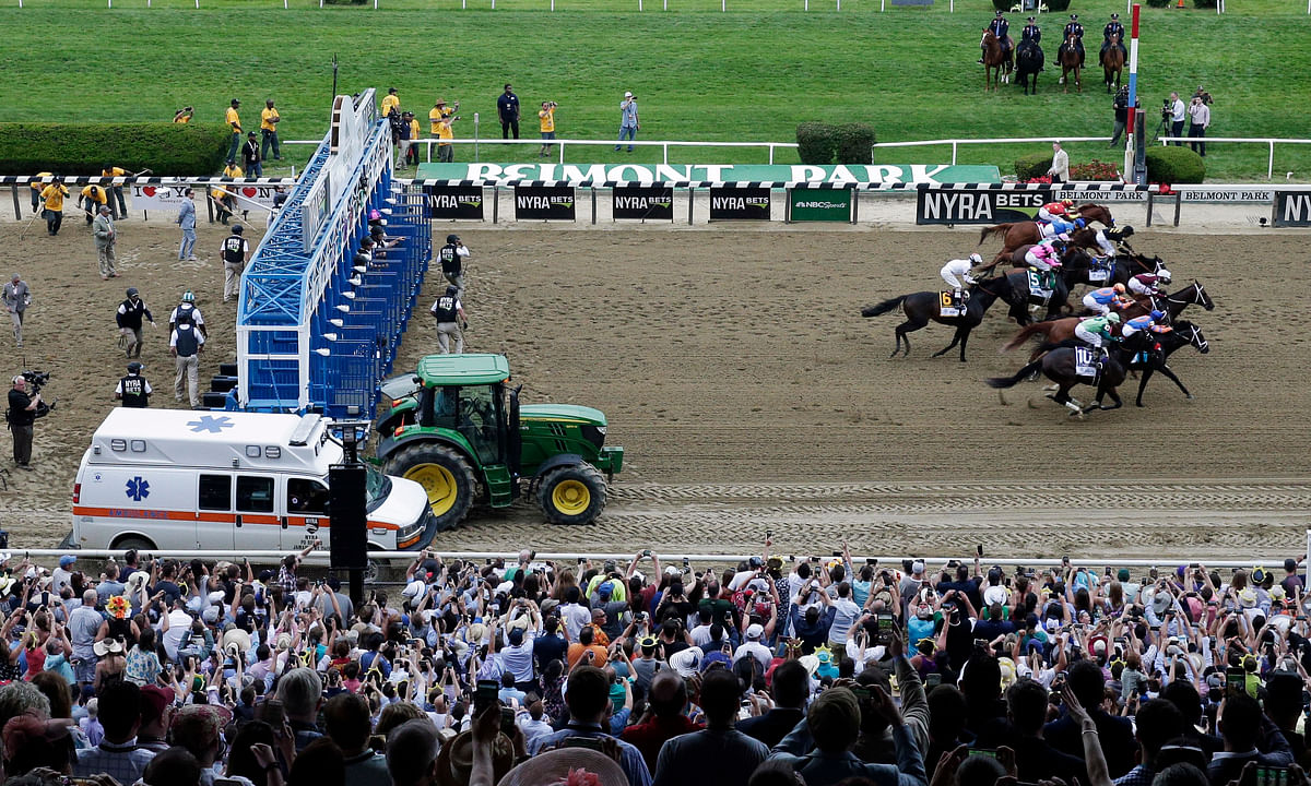 The Belmont Stakes: Track surface in New York is among the safest in the country