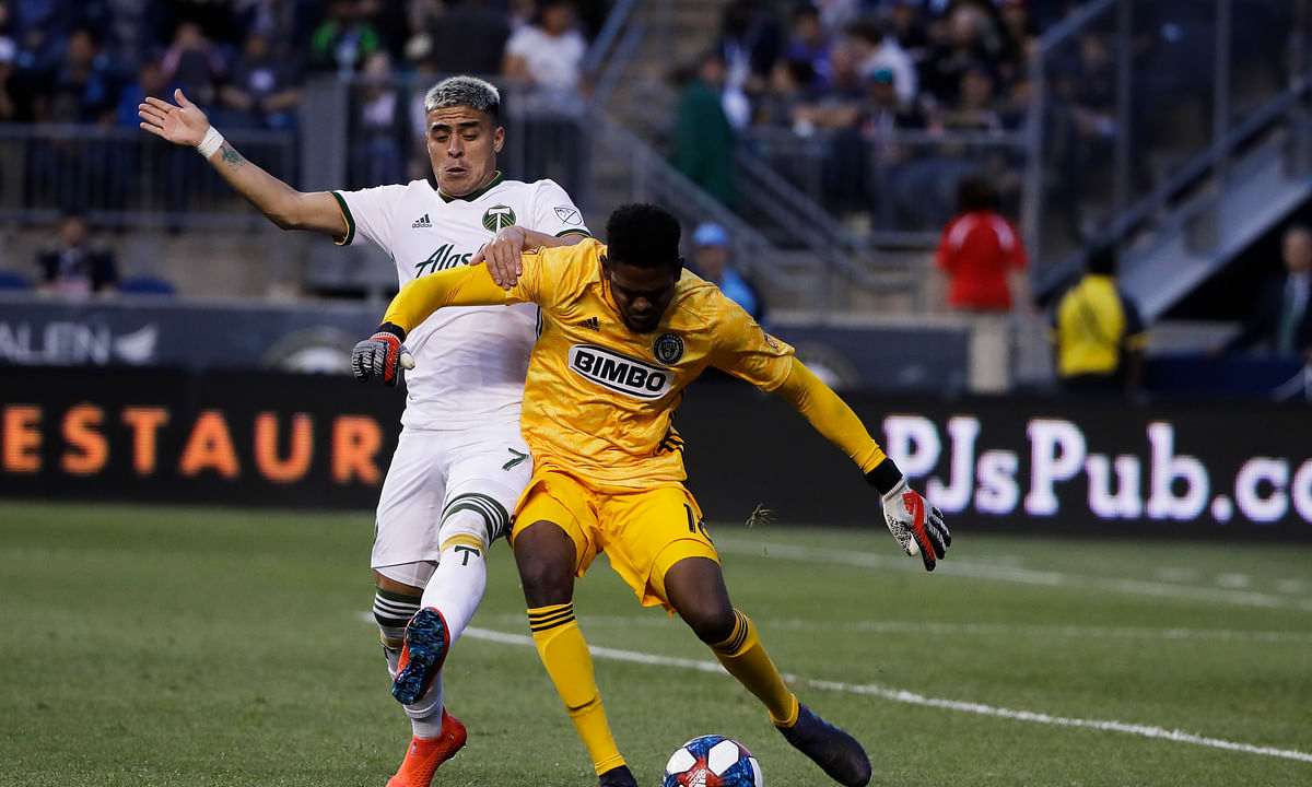World Cup winner Jose Kléberson helps Philadelphia Union to top of MLS
