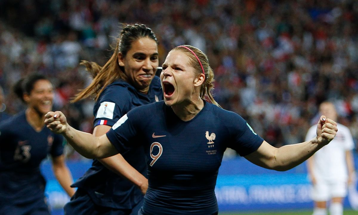 France fights back after own goal beats Norway 2-1 to go to 2-0 in Women's World Cup