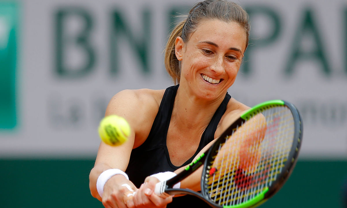 Tennis Sunday -- Abrams on French Open Women's Round of 16 . . . Muguruza, Stephens, Vondrousova, Sevastova, Martic, Kanepi