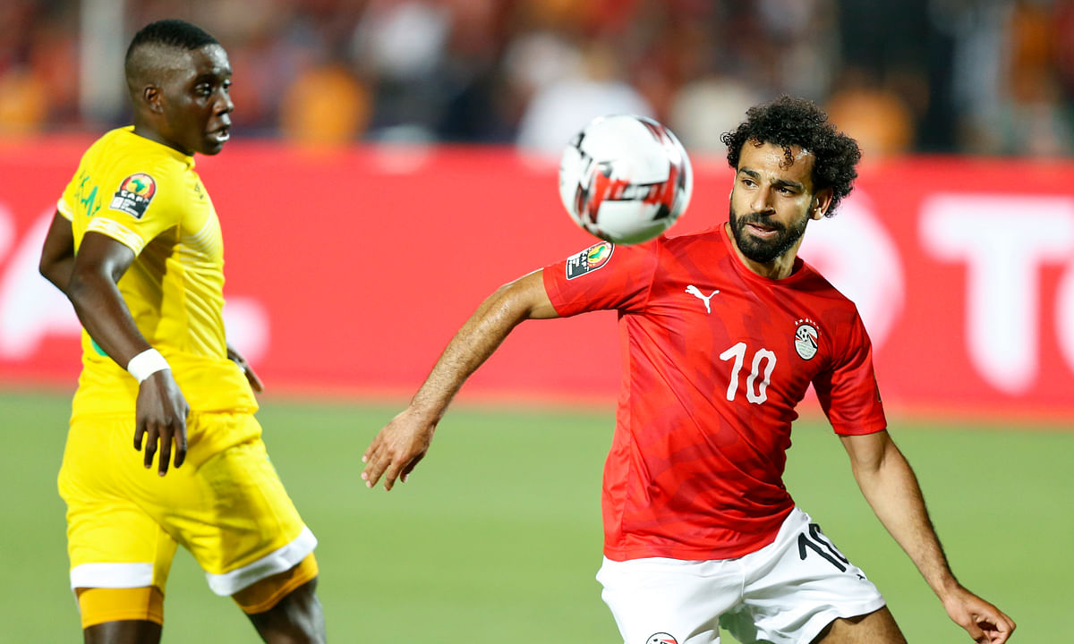 Egypt tops Zimbabwe 1-0 on Trezeguet goal to kick off African Cup of Nations soccer
