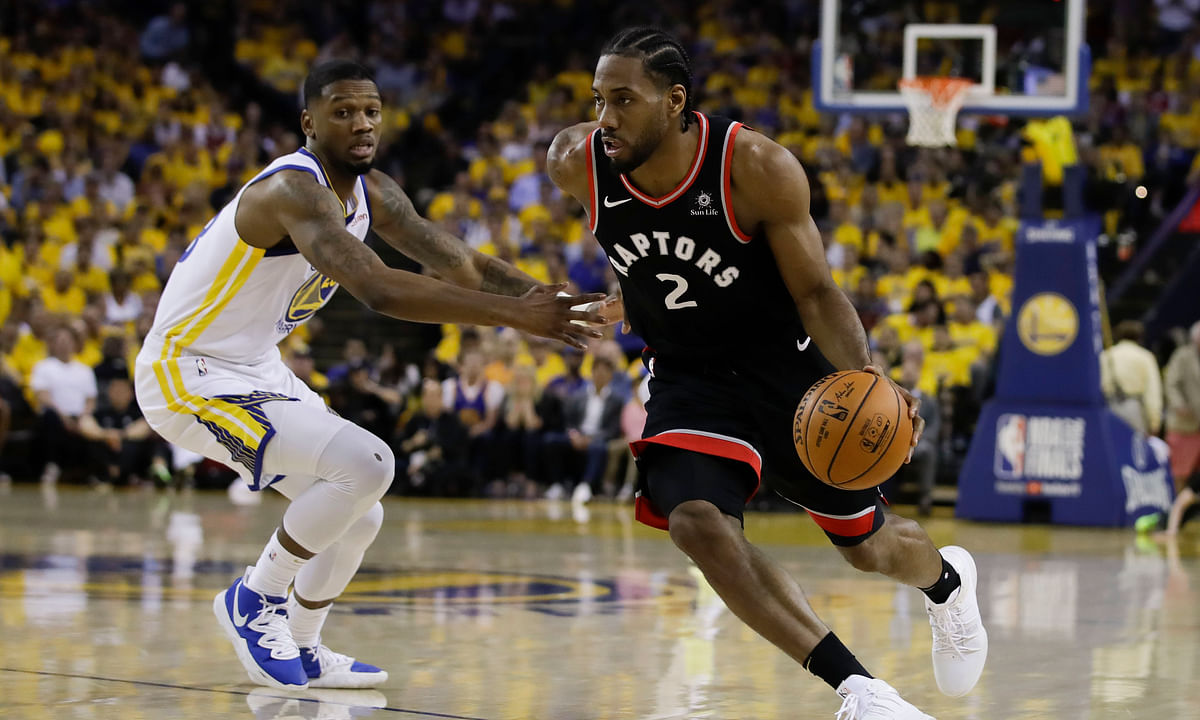 Raptors, with balanced attack, pummel short-handed Warriors 123-109, take 2-1 lead in NBA Finals – Curry scores career playoff-high 47
