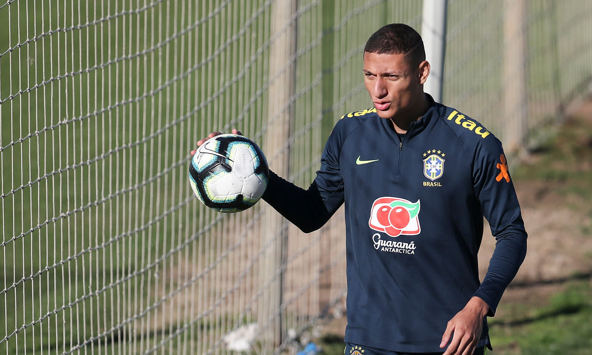 Richarlison to miss Brazil's Copa America match vs. Paraguay due to mumps – team to get vaccinated