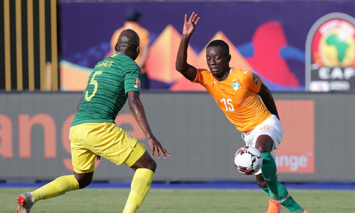 African Cup Soccer: Cameroon squeaks by Guinea-Bissau, Ghana draws with underdog Benin