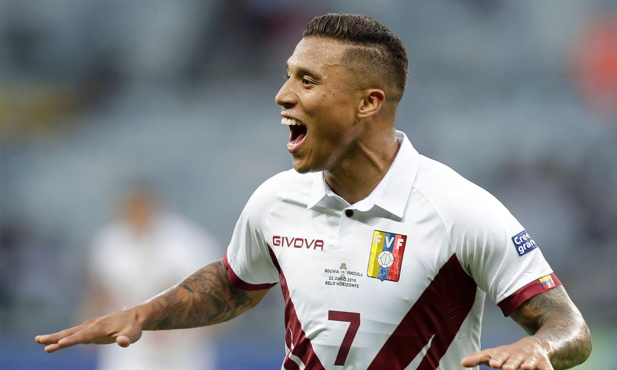 Copa America: Venezuela beats Bolivia 3-1 to advance to quarterfinals