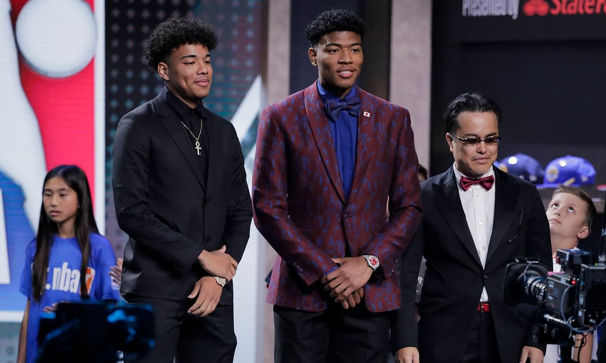 NBA Draft: Rui Hachimura becomes first Japanese player taken in  first round (video) - goes at No. 9 to Washington Wizards