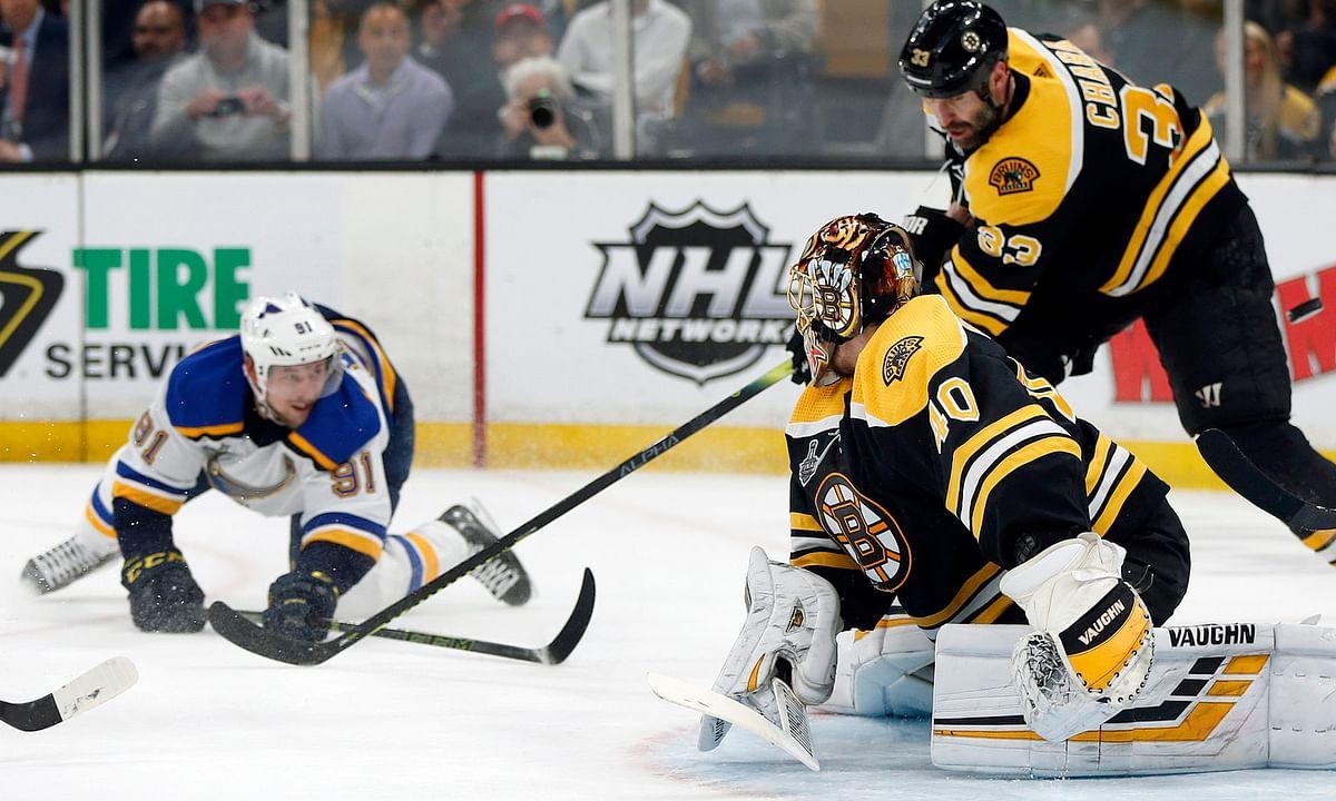 NHL Saturday -- Dietel on Bruins v Blues Game 3