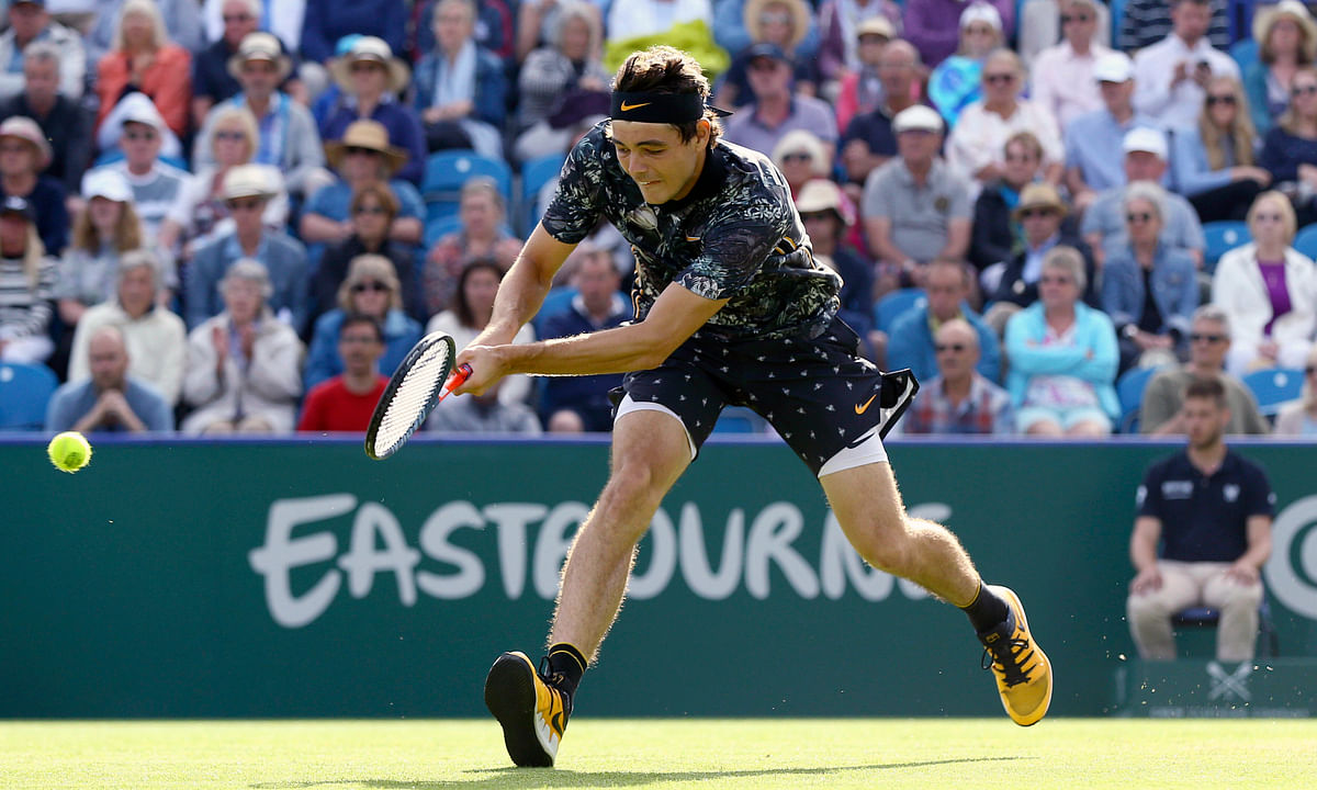 Tennis Saturday: Abrams picks the Nature Valley ATP Eastbourne final with  Taylor Fritz vs. Sam Querrey. Shocker! An American will win