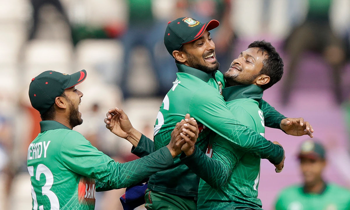 Cricket World Cup: Shakib's 5 wickets and 51 runs lead Bangladesh to 62-run win over Afghanistan