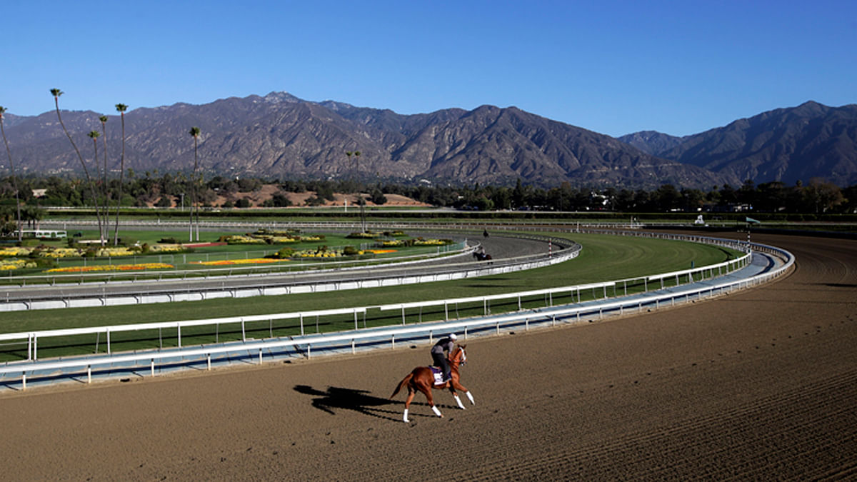 Thoroughbred Thursday: Garrity heads west to pick horses at Santa Anita Park to get away from the bad weather in the Northeast