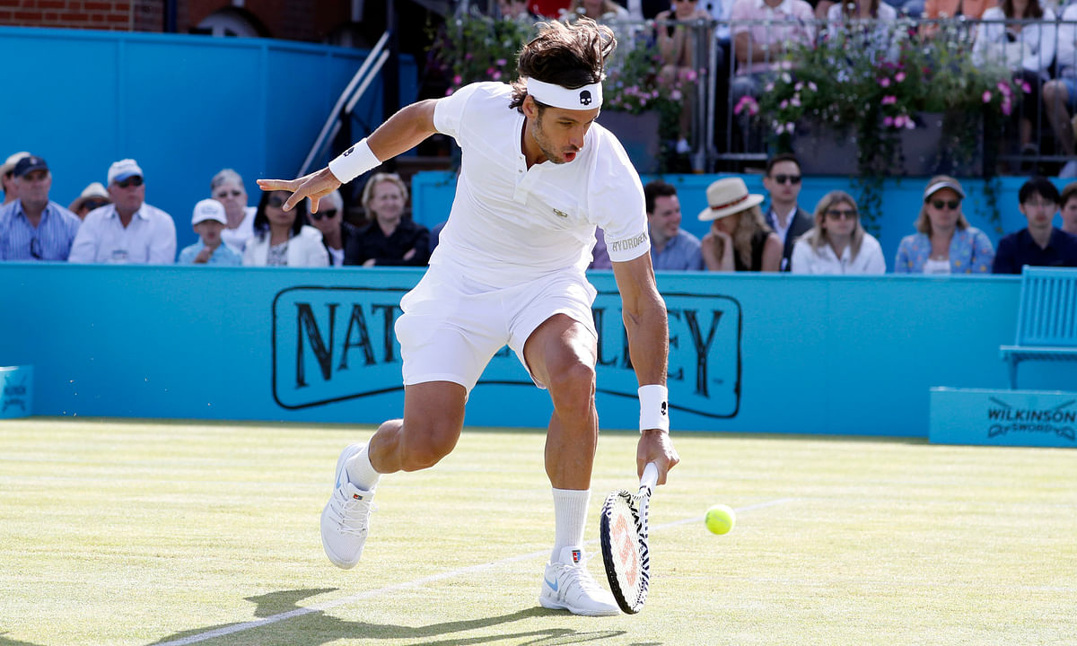 Tennis Sunday - Abrams Picks Men's Finals in Noventi Open and Fever-Tree Championships, Federer, Goffin, Lopez, Simon
