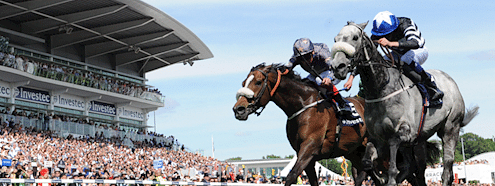 A scene from the Investec Derby Festival