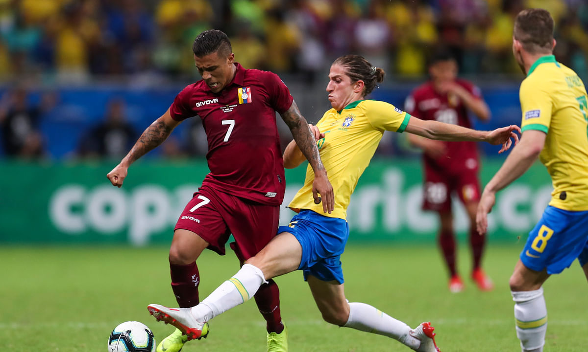 Brazil hit by another injury: Filipe Luis  joins Fernandinho and Richarlison on sideline as team preps for Messi, Argentina at Copa America