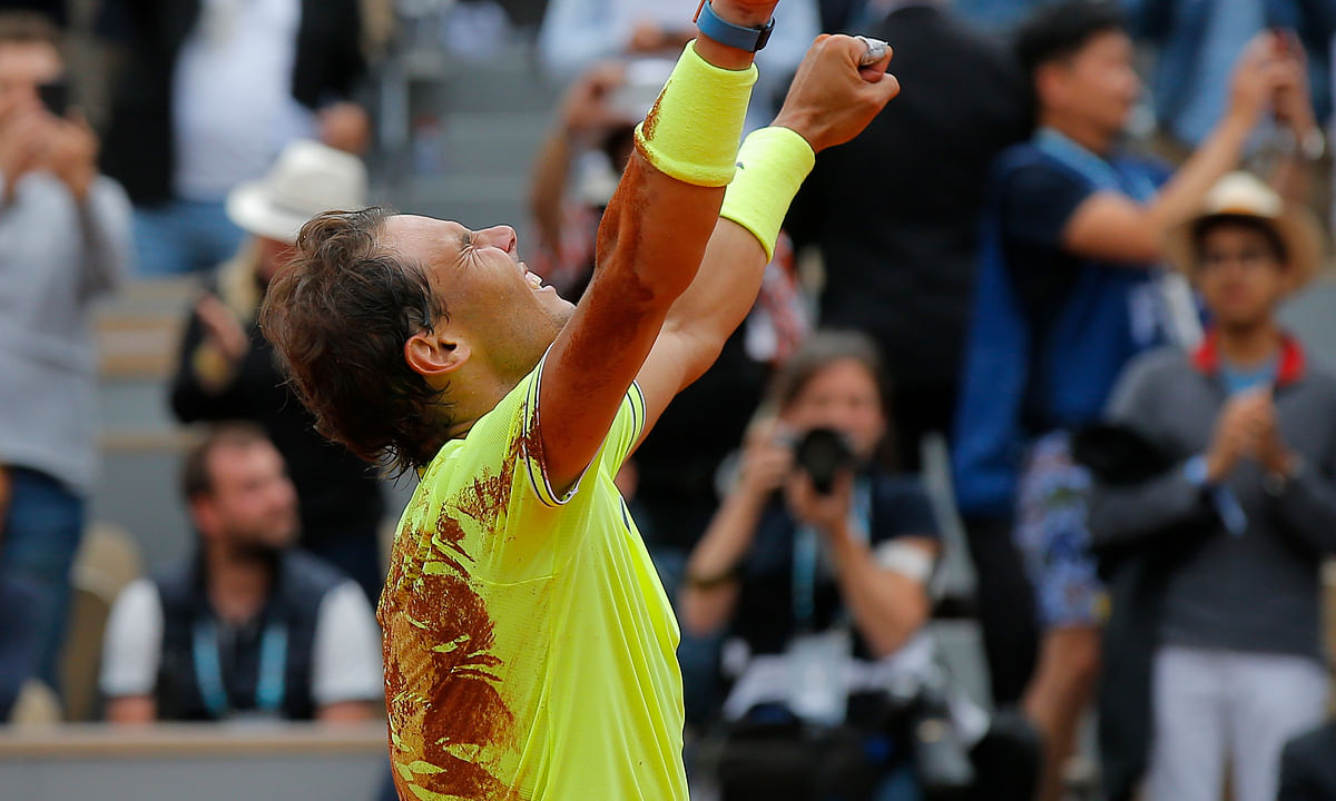 The King of Clay Still Rules: Rafael Nadal wins his  12th French Open title,  dominating Dominic Thiem in four sets